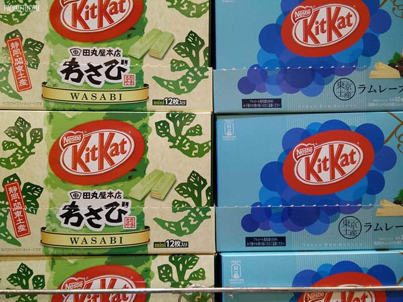 Wasabi Kit Kat anyone? | @packmeto