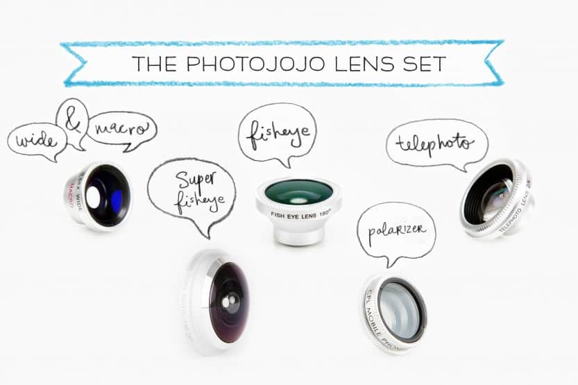 Travellers Gift Guide 2015 Phone Lens Set