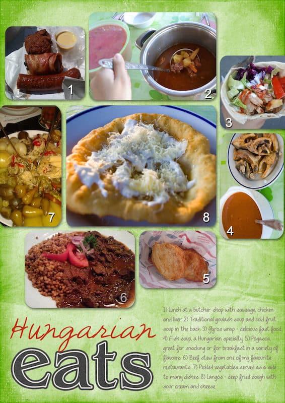 Travellers Gift Guide 2015 Scrapbook Hungarian Food | packmeto.com
