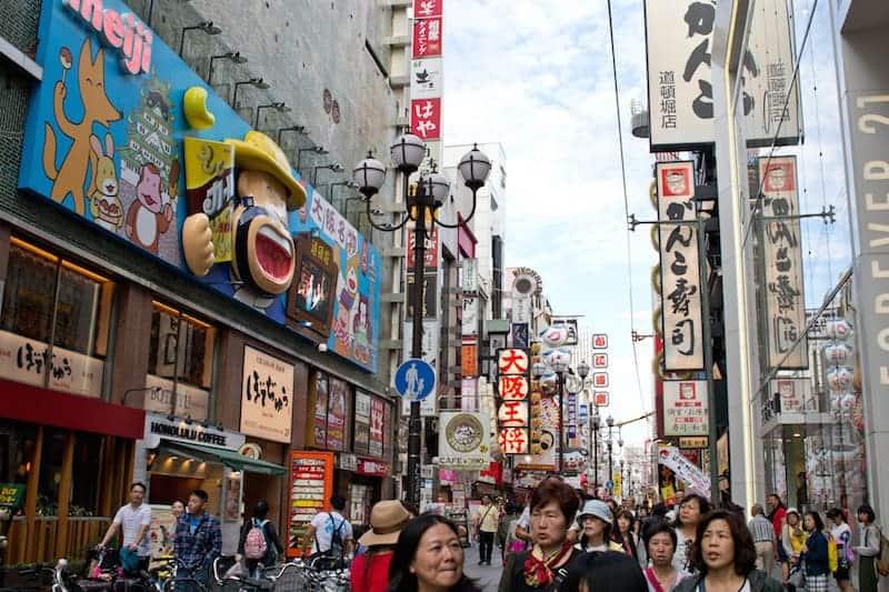 A Wander Down Dotonburi – Osaka's Street of Giant Food