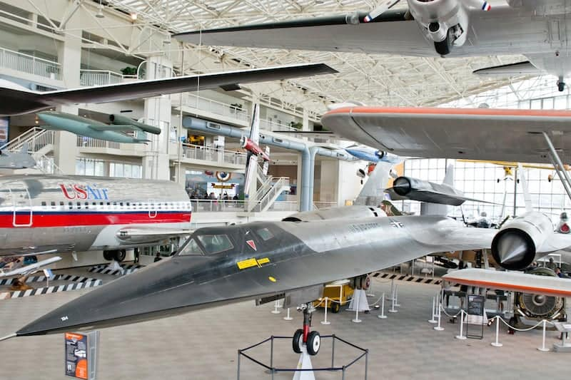 Great Gallery at the Museum of Flight Seattle