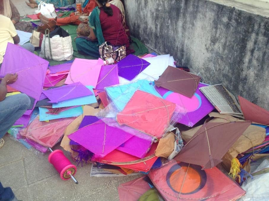 Can we open our own kite stall now?