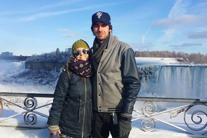 Justin-Lauren-Niagara Falls
