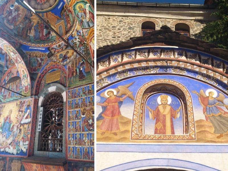 Rila Monastery Bulgaria Frescos | packmeto.com