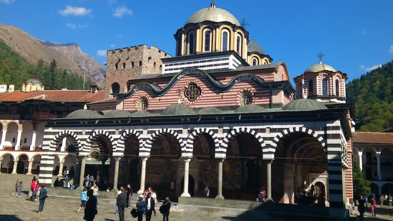 Rila Monastery Bulgaria Main Church | packmeto.com