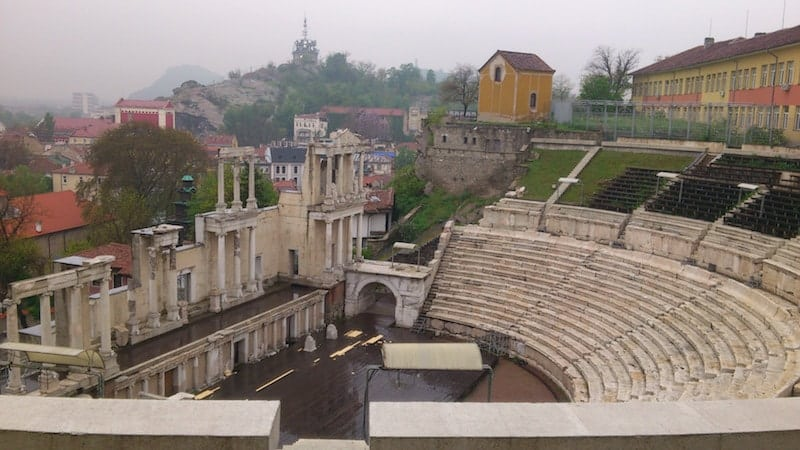 The Roman Theater of Plovdiv Bulgaria | packmeto.com