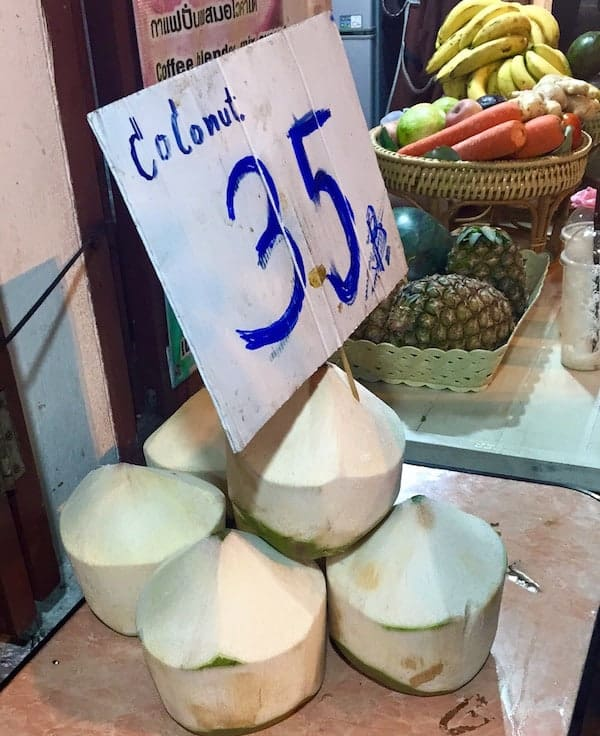 Chiang Mai Coconuts For Sale
