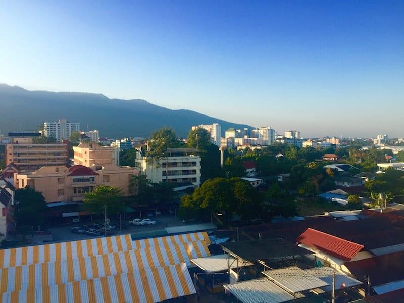 Overlooking Chang Mai