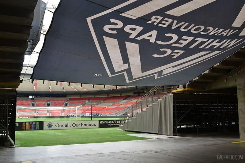 BC Place Vancouver Whitecaps Prep | packmeto.com