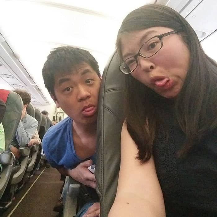 Silliness on the plane
