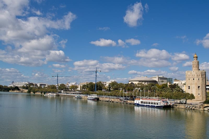 Sunny day in Seville