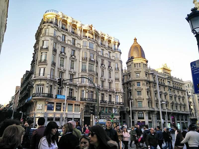 Gran Via Madrid View