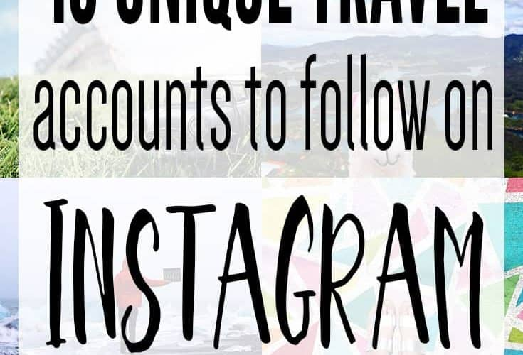 10 Unique Travel Accounts to Follow on Instagram