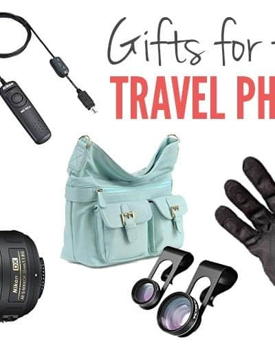 Best Gifts for Travellers Who Love To Take Photos