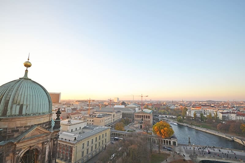 Overlooking Museum Island - Treasures of Berlin's Museum Island | packmeto.com