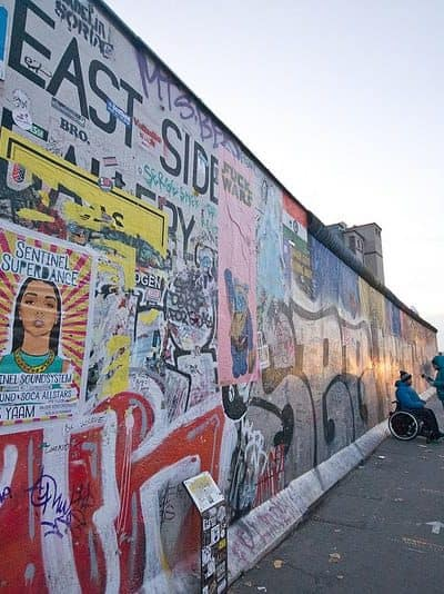 Now and Then: The Evolution of the East Side Gallery in Berlin