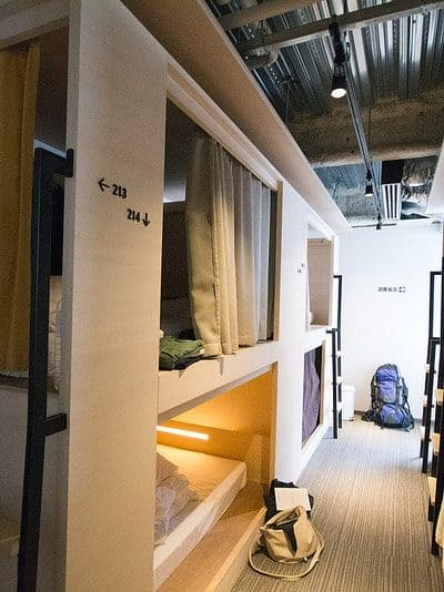 Comfort and Quietness at Unplan Kagurazaka – Tokyo Hostel Review