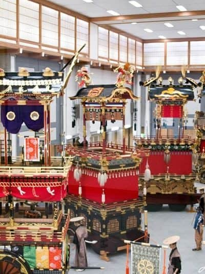 Craftsmanship and Artistry at the Takayama Festival Floats Exhibition Hall