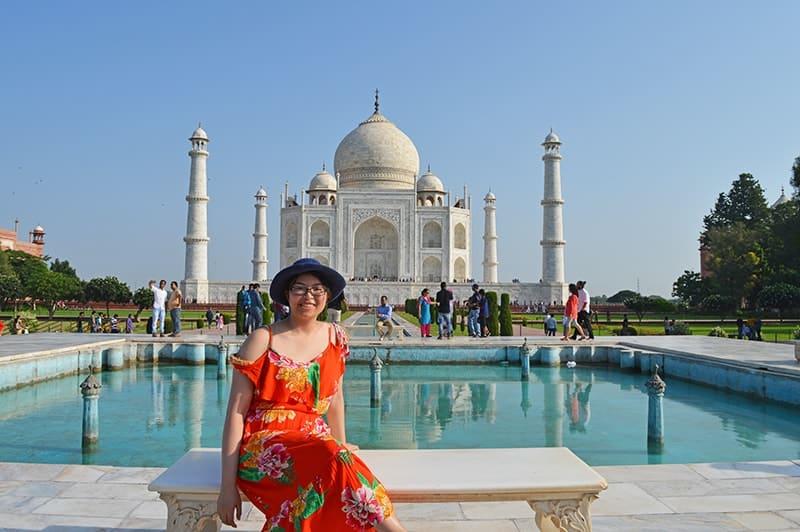 Short stay in India. Incredible Taj Mahal 42