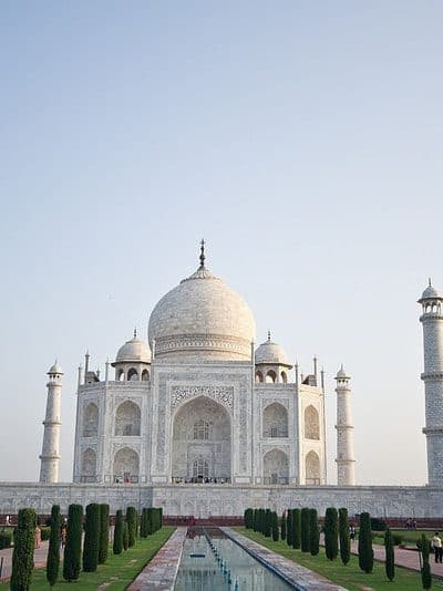 Incredible India: Visiting the Taj Mahal