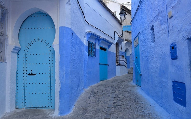 Chefchaouen Morocco's blue pearl streets